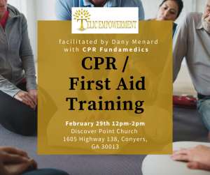 CPR First Aid Training @ Discover Point Church