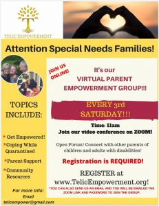 Virtual Parent Empowerment Group @ on Zoom